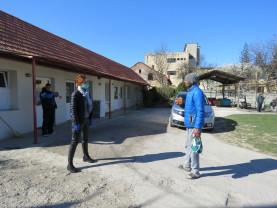 DASO. Măsuri privind oamenii străzii - Izolare voluntară la Adăpotul de Noapte