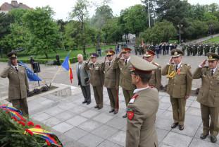 Parcul 1 Decembrie - Ceremonial militar de 9 mai