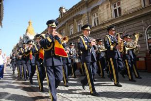 Sâmbătă, 12 octombrie, de Ziua Orașului Oradea - Concert excepțional al fanfarei militare