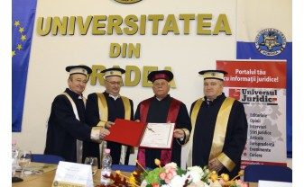Academicianul de top, Liviu Pop - Doctor Honoris Causa al Universității din Oradea