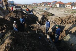 Au început lucrările de pe strada Barcăului - Coridor verde în Ioşia