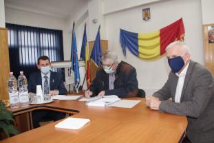 Agenda politică - Deputatul Janos Kiss în audiență la Ștei