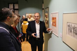 Peste 70 de lucrări expuse la Muzeul Oraşului - 50 de ani de grafică românească