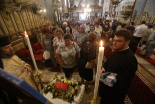 Sărbătoare și smerenie - La catedrala Sf. Nicolae