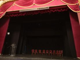 """Primul spectacol pe noua scenă a Teatrului va fi opereta  """"Sybill"""" - Scena turnantă a fost inaugurată"""