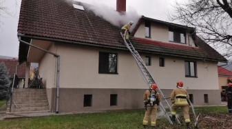 Coșurile de fum deteriorate sau necurățate de funingine vă pot distruge locuința - Casă în flăcări în Peștere