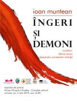 """Vernisaj la Muzeul Oraşului Oradea - Expoziţia """"Îngeri și demoni"""""""