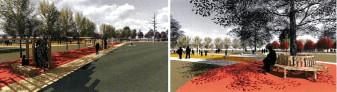 Coridor verde pe str. Ion Bogdan - Încep lucrările de amenajare a noului parc