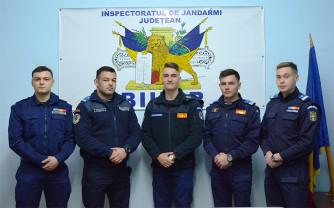 La Inspectoratul de Jandarmi Judeţean Bihor - Încadrări directe