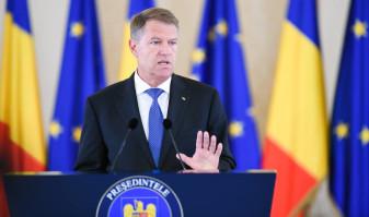 Preşedintele Iohannis - Guvernarea PSD a eșuat. Bugetul e cel al rușinii naționale