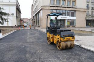 Străzile Ady Endre și Aurel Lazăr rămân închise - Circulaţie restricţionată