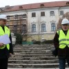Două luni de la demararea lucrărilor - Reabilitarea Palatului Baroc