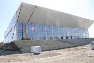Sala Polivalentă din Oradea - Va fi predată municipalității în iulie