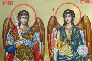 Duminică, 8 noiembrie - Soborul Sfinţilor Arhangheli Mihail şi Gavriil