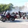 Sute de motocicliști pe străzile Oradiei - Călare pe motoare