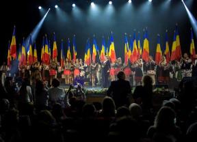 Recital de excepție, la aniversarea lui Paul Surugiu Fuego - Oana Lianu a fost Regina Palatului