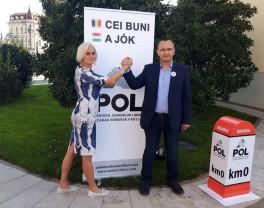 Agenda electorală - Manifestaţie a candidaţilor POL