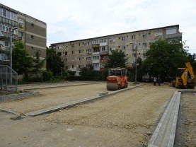 Amenajări în cartierul Nufărul - Locuri de parcare și un nou parc
