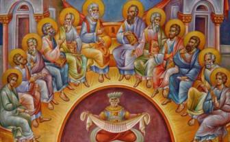 Duminică prăznuim Rusaliile - Pogorârea Sfântului Duh