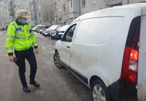Amendați pentru că nu aveau anvelope de iarnă - Atenție șoferi!