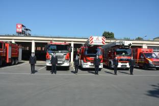 Peste 70 de pompieri militari bihoreni au fost avansați în grad