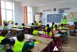 Siguranță rutieră - Elevi mai atenți