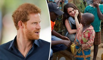 Prinţul Harry s-ar muta cu familia în Africa