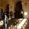 Modificarea legilor justiţiei prin OUG - Protest mut în holul Tribunalului Bihor