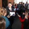 Procurorii au ieşit în faţa sediului; Judecătoria Oradea îşi suspendă activitatea - Protestul magistraţilor