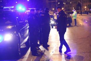 Un șofer nu a oprit la semnal, a fugit de polițiști și a refuzat să fie testat - Razii ale Poliției pe timp de epidemie