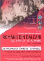 Sesiune internațională la Universitate - Despre românii din Balcani
