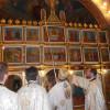 În zi de mare sărbătoare creştină - Resfinţirea bisericii din Subpiatră