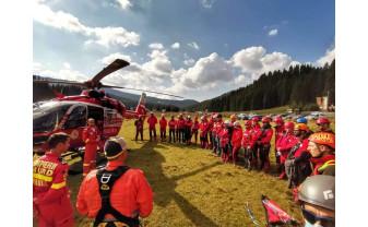 Sesiunile de evaluare naţională Salvamont, la final - Trei bihoreni, viitori salvatori montani