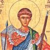 Vineri, 26 octombrie - Sfântul Mare Mucenic Dimitrie, Izvorâtorul de mir