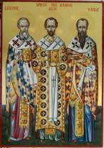 Sărbătoarea zilei - Sfinţii Trei Ierarhi: Vasile, Grigore şi Ioan