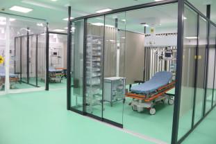Recepția Unității de Primiri Urgenţe a Spitalului Județean - Primii pacienți, primiţi de mâine