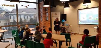 """""""Stropi"""" își face prieteni noi - De vineri, 14 februarie, ABA Crișuri este prezentă în Comuniteca cu ateliere de protecția resurselor de apă."""