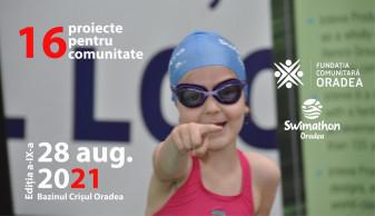 Proiecte pentru comunitate - Swimathon Oradea 2021