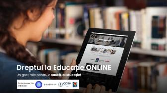 Pentru copiii defavorizați din Bihor - Dreptul la educație la distanță