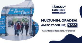 Număr record de participanți - Târgul de Cariere Digital Oradea