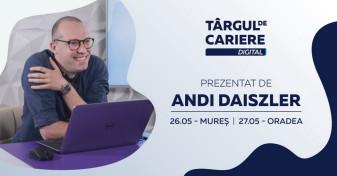 Astăzi, 27 mai - Târgul de Cariere Digital Oradea