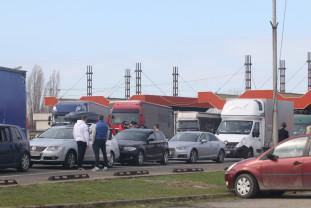 Timpul de aşteptare a fost de 180 minute - Aglomerație în Borș