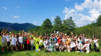 Concursul interșcolar, un succes - Ziua Liliacului Carpatin