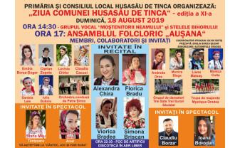 Ziua comunei Husasău de Tinca - Cântec, joc și voie bună