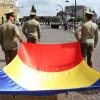 Ceremonial militar și religios la Oradea - Ziua Drapelului Național