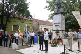 195 de ani de la nașterea lui Avram Iancu - Crăişorul Munţilor a fost omagiat la Oradea