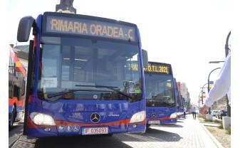 Noile achiziţii ale OTL vor circula pe rute în două săptămâni - Nouă autobuze hibrid