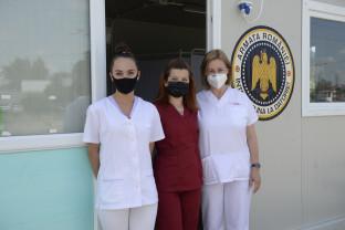Vama Borş. Se vaccinează cu Johnson&Johnson, într-o singură doză - Primul centru de vaccinare la frontiera României