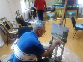O săptămână de pictură şi fotografie - Tabără de creaţie la Vadu Crişului