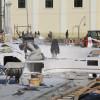 Lucrările din Piața Unirii  - Montează prima fântână arteziană